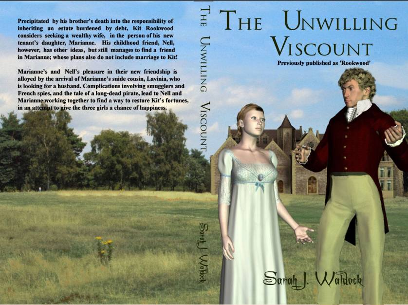 Unwilling viscount cover